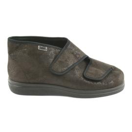 Brun Befado kvinnors skor pu 986D007