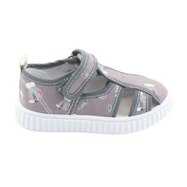 American Club Amerikanska skor barnskor med kardborreband