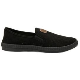 Mckeylor svart Openwork sneakers