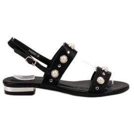 Kylie Bekväma svarta sandaler