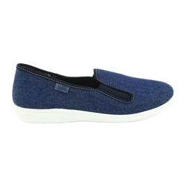 Blå Befado jeansskor pvc 401Q018