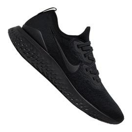 Svart Löpskor Nike Epic React Flyknit 2 M BQ8928-011
