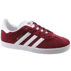 Adidas Gazelle Jr CQ2874 röda skor