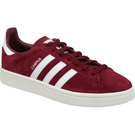 Adidas Originals Campus M BZ0087 Burgundy skor