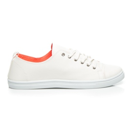 Balada vit Snygga Kvinnors Sneakers