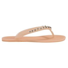 Flip-flops med VICES Ornaments brun