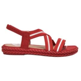 Seastar Bekväma kvinnors sandaler röd