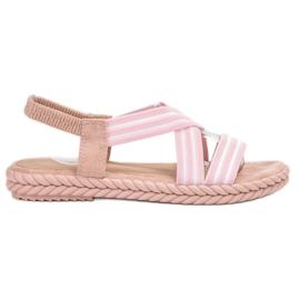 Seastar rosa Bekväma kvinnors sandaler