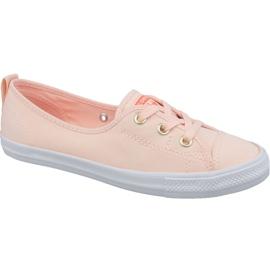 Apelsin Converse Chuck Taylor All Star Ballet Lace Slip 564313C orange skor