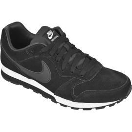 Svart Skor Nike Sportswear Md Runner 2 Läder Premium M 819834-001