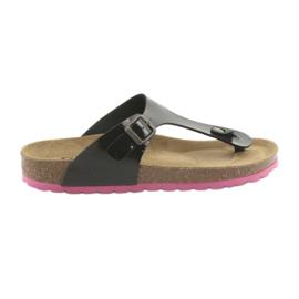 Medicinska flip-flops BIOX svart