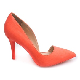Suede Pins 4006 Orange apelsin