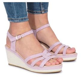 Lila Glavel kil sandaler