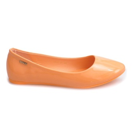 Apelsin Lackerade Ballerinas 11037 Orange