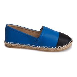 Blå Sneakers Espadrilles Linen LX116 Blue