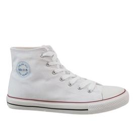 Vit klassiska herrskor Sneakers CQ-1401