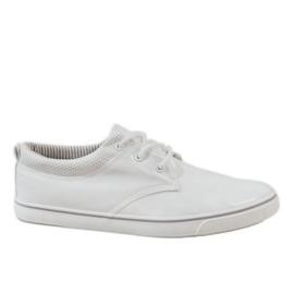 Vita klassiska herrskor Sneakers BK-6005