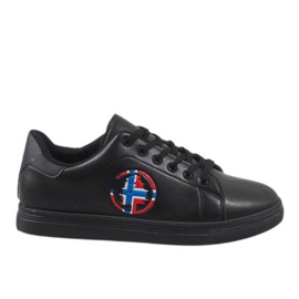 Svart herr sneakers D20533