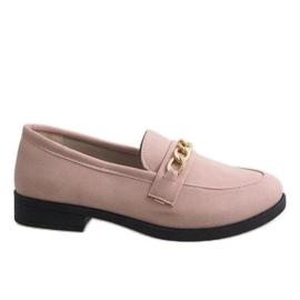 Rosa loafers för MP-11 ballerinas