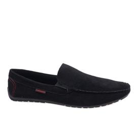 Svarta eleganta loafers AB96K-1
