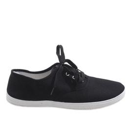 Svarta mäns sneakers SR13103