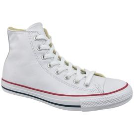 Vit Converse Chuck Taylor All Star Hej Läder Vid 132169C