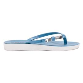 Seastar blå Flip-flops med båge