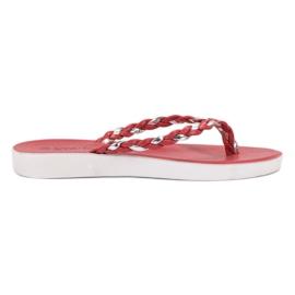 Seastar Rödvävda flip-flops