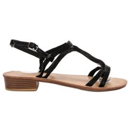 SHELOVET Sandaler i klackar svart