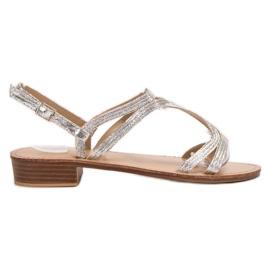 SHELOVET Sandaler i klackar grå