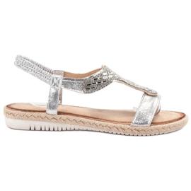 Emaks Slip Espadrilles sandaler grå