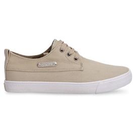Textil Sneakers Casual Y011 Khaki