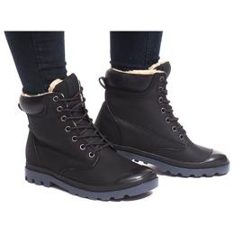Svart Isolerade Boots X5903 Black