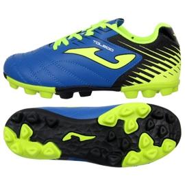 Fotbollsstövlar Joma Toledo 904 Fg Jr. TOLJW.904.24 blå blå
