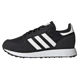 Svart Adidas Originals Forest Grove Jr EE6557 skor
