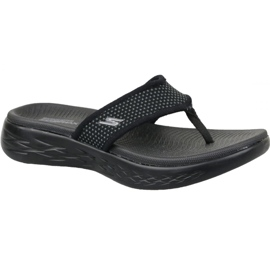Svart Flip-flops Skechers On the Go 600 W 15300-BBK