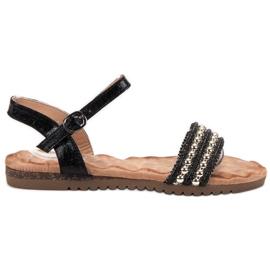 Emaks Bekväma kvinnors sandaler svart