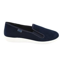 Marinblå Befado jeansskor pvc 401Q047