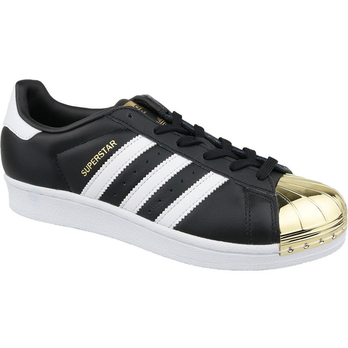 Adidas Superstar W Metall Toe W BB5115 skor svart