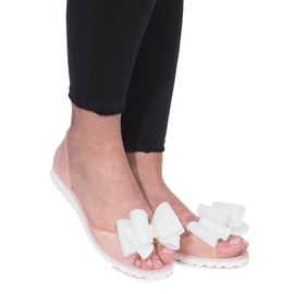 Brun Beige Flower City meliski sandaler