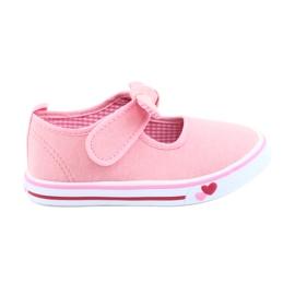 American Club rosa Sneakers sneakers bow TEN42
