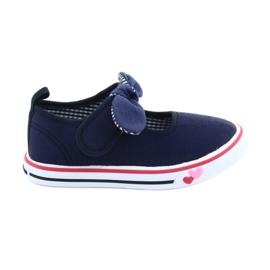 American Club Sneakers sneakers bow TEN42 marinblå