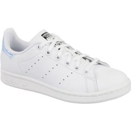 Vit Adidas Stan Smith Jr AQ6272 skor