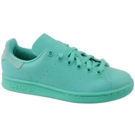 Blå Adidas Stan Smith Adicolor Skor W S80250