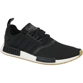Svart Adidas Originals skor NMD_R1 M B42200