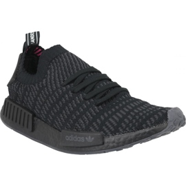 Svart Adidas NMD_R1 Stlt Pk M CQ2391 skor