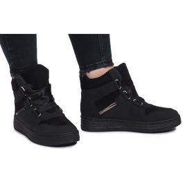 Svart Black Paule sneakers