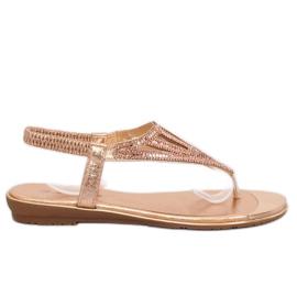 Flip-flops, rosa M03 Champagne