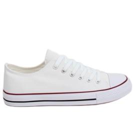 Klassiska kvinnors vita sneakers XL03 White