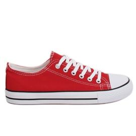 Klassiska dam sneakers röd XL03 Bigred
